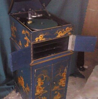 HMV 6 Chinoiserre with cabinet