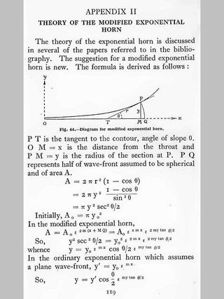 Percy Wilson Horn Theory